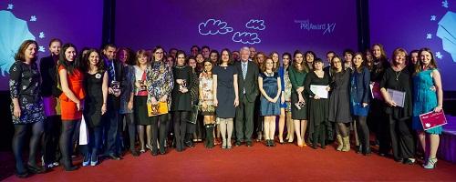 poza de grup_romanian pr award